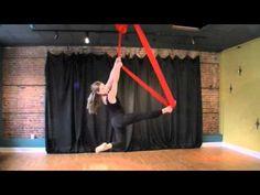 Viva La Vida Aerial Hammock Routine ~ Flight Risk Aerial Silks
