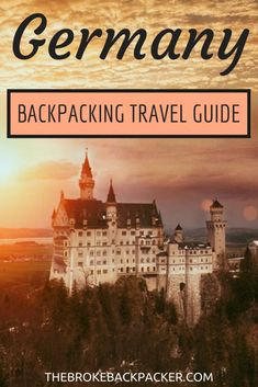 Guide to backpacking Germany