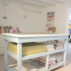 Basement Sewing Room Design, Pictures, Remodel, Decor and Ideas