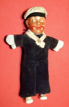 ANTIQUE VTG WW2 CELLULOID DOLL GERMAN NAVY SAILOR SOLDIER GERMANY