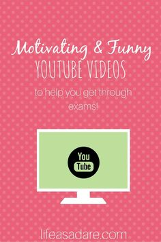 Here are some of the most motivating and funniest videos to keep you going this exam season! Happy studying, everyone!