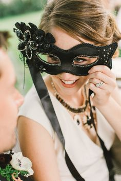 Halloween masquerade wedding inspiration | Real Weddings and Parties | 100 Layer Cake