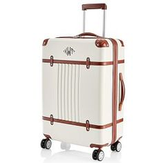 Shop terminal spinner from Mark and Graham. Our expertly crafted collections offer a wide of range of personalized and monogrammed gifts, including a variety of terminal spinner. Cute Luggage, Carry On Luggage, Makeup Carrying Case, Rolling Briefcase, Personalized Luggage, Monogrammed Luggage, Travel Size Toiletries, Checked Luggage, Leather Luggage Tags