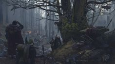 ArtStation - Coming back to Teutoburg Forest Battle scene, Vilius Petrauskas