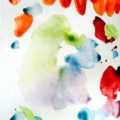 Original Artwork, painterly marks http://www.kmjcdesigns.com