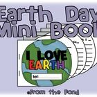 Print and construct this cute and colorful mini book to write about Earth! $    There is a colorful cover or black/white cover option.    There are 4...