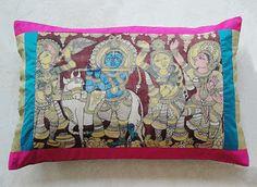 Kalamkari cushions