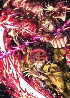 Read Demon Slayer / KimetsuNoYaiba-Online Best Manga Online in High Quality Manga Anime, Fanarts Anime, Anime Demon, Otaku Anime, Anime Boys, Anime Characters, Manga Girl, Demon Slayer, Slayer Anime