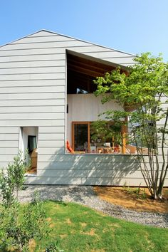 Japanese Modern House, House 2, Architect Design, Facade, New Homes, Exterior, House Design, Architecture, Patio