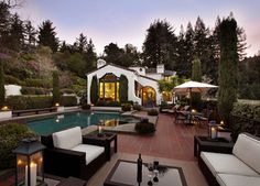Woodside 1929 - traditional - spaces - san francisco - Bernard Andre Photography