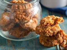 My all time fav biscuits- Anzac Cookies