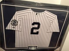95cb60ea6db Another framed jersey of  yankees legend  DerekJeter  captain  FramedJersey   JerseyFraming Framed
