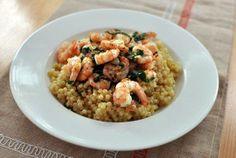 #Recipe: Chili, Lemon, and Basil Shrimp with Israeli Couscous