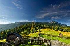 A small farm in the mountains of Romania, Suceava, photo Marian Gabriel/National Geographic Creative Beautiful World, Beautiful Places, National Geographic Images, Visit Romania, Romania Travel, Bucharest Romania, Central Europe, Eastern Europe, Countryside