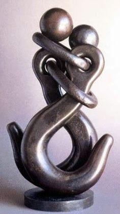 Metal Sculpture by Jean-Pierre Augier