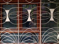 Very elaborate iron gate design in Sultanahmet
