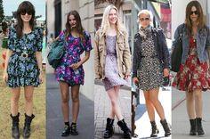 Romântica, grunge, moderna ou retrô: Estampa floral para compor looks de vários estilos