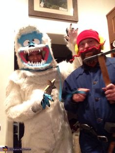 Yukon Cornelius and the Abominable Snowman - 2013 Halloween Costume Contest