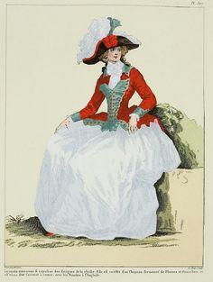 A Most Beguiling Accomplishment: Galerie des Modes, Le Magasin des Modes, 30 August 1787.