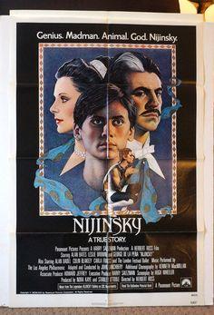 Movie Poster  Nijinsky  Original 1980 by MoviePostersAndMore