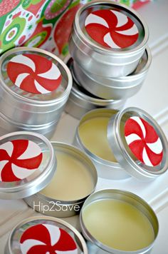 Homemade Peppermint Lip Balm (Holiday Gift Idea)Looking for a unique DIY holiday gift idea this holiday season? Consider making some homemade peppermint lip balm using just a few natural ingredients. It's so easy you'll never want to buy store-bought again!Homemade Peppermint Lip Balm Ingredients: * 1 and 1/2 Tablespoon Natural Beeswax * 1 Tablespoon Coconut Oil * 1 Tablespoon Shea Butter * 2 Tablespoon Sweet Almond Oil (or Olive Oil) * 20 drops Peppermint Essential Oil * Small metal t...