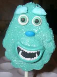 Monster Inc Sully Chocolate Pop (before horns...lol)