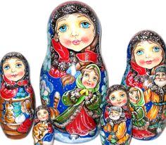 "Matriochka collection ""Anges"""