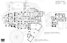 Courtyard can be atrium. Architect team is impressive see website texas House Plans Mansion, Luxury House Plans, Best House Plans, Dream House Plans, Modern House Plans, House Floor Plans, Luxury Houses, Home Design Plans, Plan Design