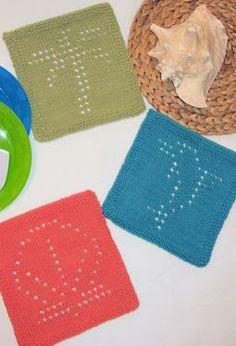 13. Lazy summer day: Knitting Summer Fun Dishcloths