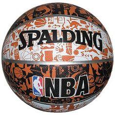 e259489dae New SPALDING NBA Basketball Graffiti Size 7 73-722Z from Japan