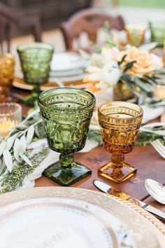 Sweet Love Wedding Inspiration with Yellow and Green | The Perfect Palette