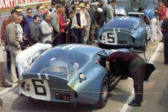 Shelby Cobra Daytona Coupe at Le Mans 1964.