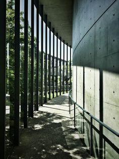 Shiba Ryotaro Memorial Museum by Tadao Ando 司馬遼太郎記念館