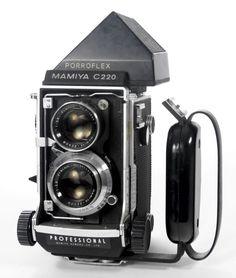 Mamiya C220 TLR Camera with 80mm f/2.8 Lens | eBay