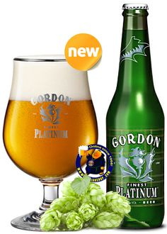 Our New Beer: Gordon Finest Platinum 12° Gordon Finest Platinum has a velvety sensation on a bitter but not harsh mantle. Dense in the mouth, it imparts an additional sharper bitterness to the throat toned with some piquancy on the tongue. It expends all its alcoholic flavour down to the last drop on the palate, where it leaves an excellent, lingering aftertaste... Available at http://store.belgianshop.com/special-beers/1394-gordon-finest-platinum-12-13l.html