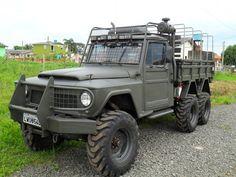 ford f75 6x6 | F75 6X6 DIESEL V8 270CV MILITARIZADAemSombrio