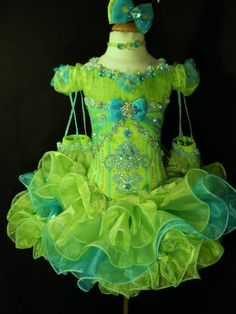 Mega Glitz Cupcake Pageant Dress. Indeed.
