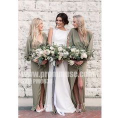 2018 Boho Bridesmaid Dresses,Chiffon A-line Bridesmaid Dress, Chiffon Bridesmaid Dresses, Long Bridesmaid Dress sold by MissZhu Bridal. Shop more products from MissZhu Bridal on Storenvy, the home of independent small businesses all over the world. Olive Green Bridesmaid Dresses, Casual Bridesmaid Dresses, Wedding Dresses, Long Dresses, Dresses Dresses, Green Bridesmaids, Dress Long, Wedding Flowers, Bridesmaid Dresses Long Sleeve