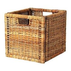 IKEA RATTAN LARGE BASKET SUITABLE FOR EXPEDIT BOOKCASE, STORAGE BASKET: Amazon.co.uk: Kitchen & Home
