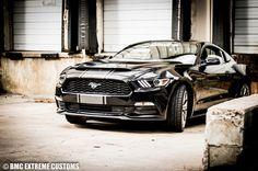 2015-2017 Ford Mustang Black Mamba Ram Air Hood