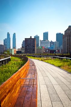 To See High Line for NY sunshine