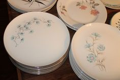 midcentury china - we had the plates on the lower right.