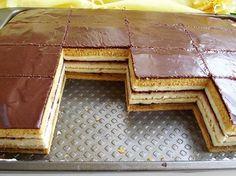 prajitura-dungata-9 Romanian Desserts, Romanian Food, Sweets Recipes, Cookie Recipes, Peach Cookies, Opera Cake, Waffle Cake, Sweet Cakes, Homemade Cakes