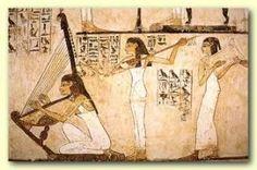 Female musicians (Tomb of Rekhmire)