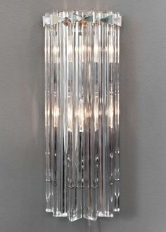 Pair of Murano Glass Wall Sconces by Venini image 37.75 in. (45 cm) WIDTH:7 in. (18 cm) DEPTH:3.5 in. (9 cm