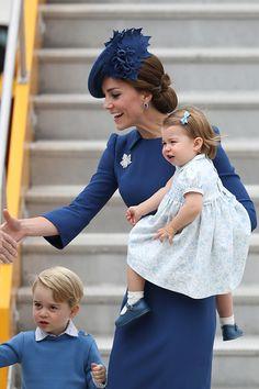 The Cambridge family in Canada, Sept. 24, 2016