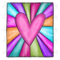Valentines Art, Valentines Day Hearts, Drawings For Boyfriend, Heart Painting, Rock Painting, Love Doodles, Heart Hands Drawing, Doodle Lettering, Art Classroom