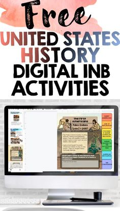 US History Digital Interactive Notebook Activities Freebie Sampler This resource contains printables from US History Interactive Notebooks Try these interactive notebook resources with your students for FREE! This product contains printables from Early | Native Americans, Age of Exploration, Colonist and Native American Relations, Events Leading to the Revolutionary War, American Revolution, and The Constitution Teacher Freebies, Teacher Blogs, Teacher Resources, Tools For Teaching, Student Teaching, Teaching Ideas, History Interactive Notebook, Interactive Notebooks, Sixth Grade
