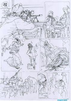 Fuck Yeah Illustrative Art! • Kim Jung Gi