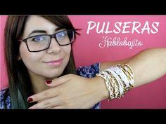 4 Ideas para hacer pulseras o manillas / DIY Pulseras fáciles - YouTube